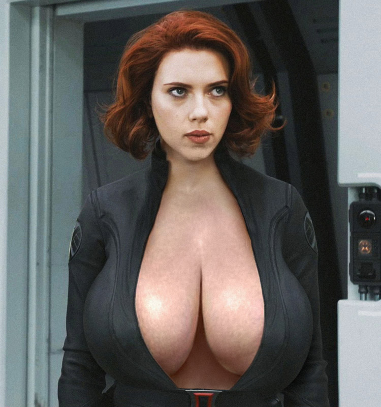 scarlett johansson big boobs
